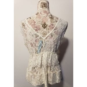 do & be Tops - Do & Be white lace top